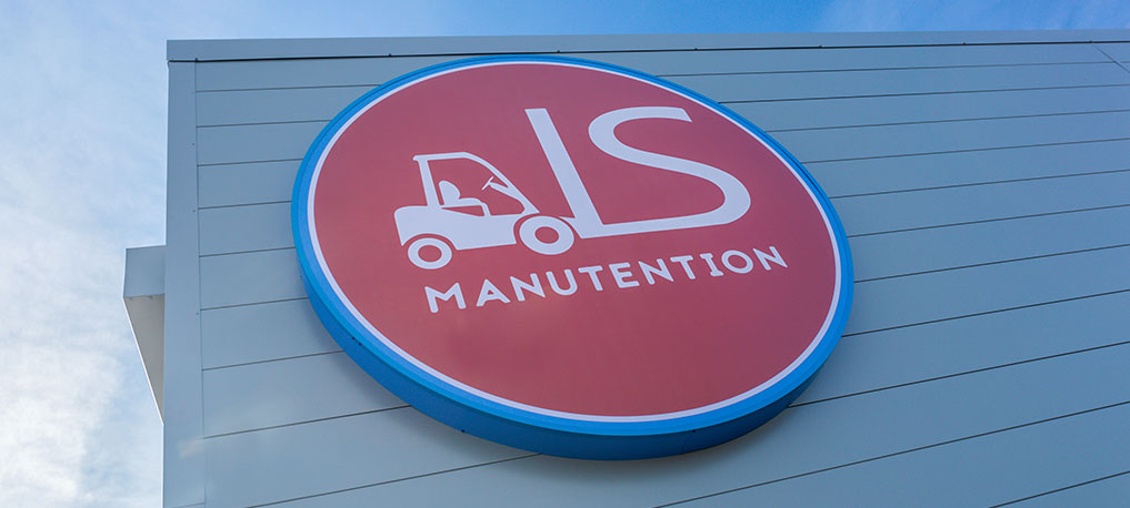 Enseigne LS Manutention